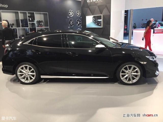 2017法兰克福车展:本田思域silver line