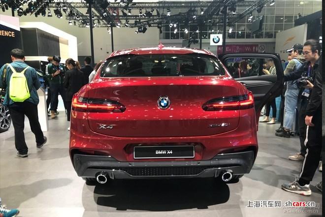 2018北京车展:宝马x4转战亚洲首次亮相