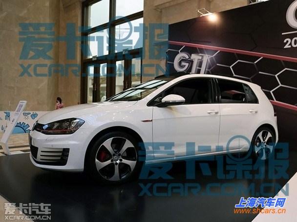 高尔夫7 gti/r-line消息 上海车展首发