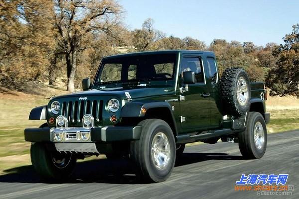jeep牧马人皮卡确认量产