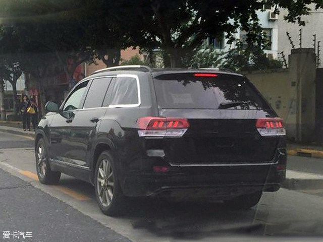 要当7座SUV一哥 大众全新中大型SUV谍照高清图片