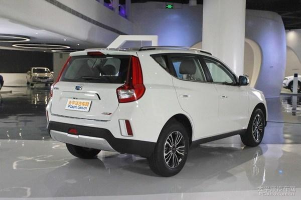 吉利远景SUV配置曝光 4款车型 8月上市高清图片