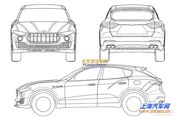 吉普汽车设计手绘图