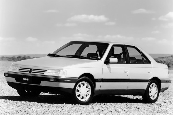 1991年款美版标致405