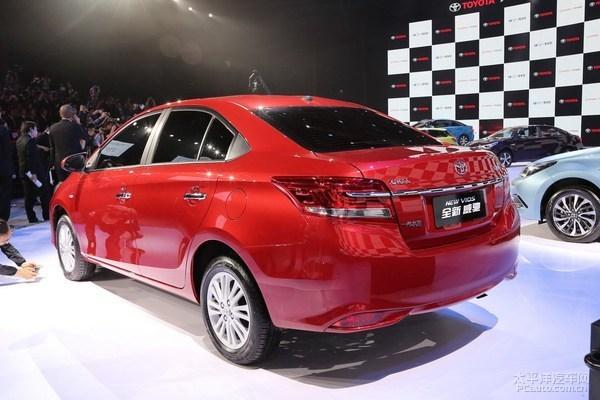 丰田新款威驰换装cvt变速箱 或9月上市