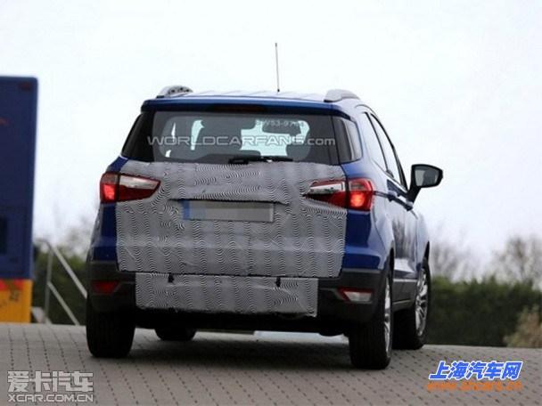 福特新款翼搏谍照 国产车型2016年推出_上海汽车网